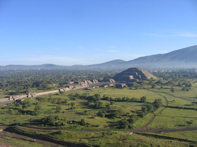 Теотіуакан - загадкове місто стародавнього світу, де люди стають богами (17)