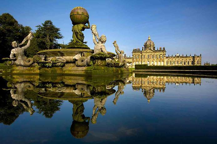 Касл-Ховард, або Замок Говардів, вважається самим пишним палацом Великобританії (10)