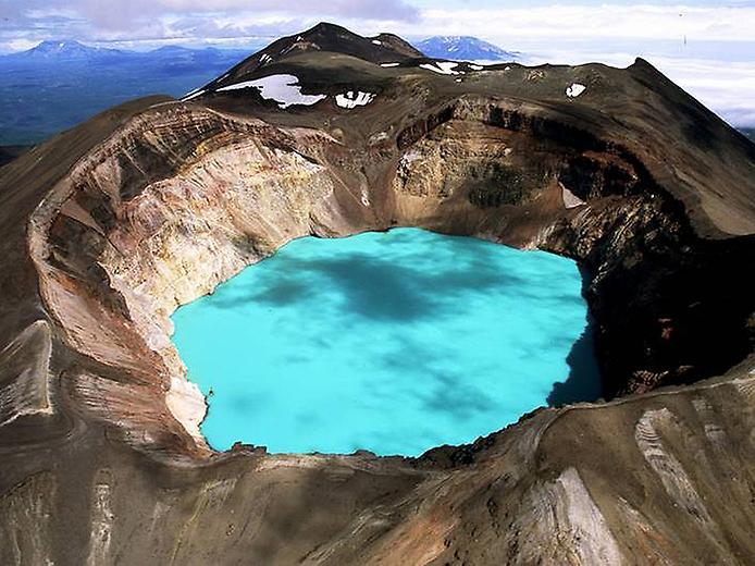 Вулкан Малий Семячік на Камчатці (2)
