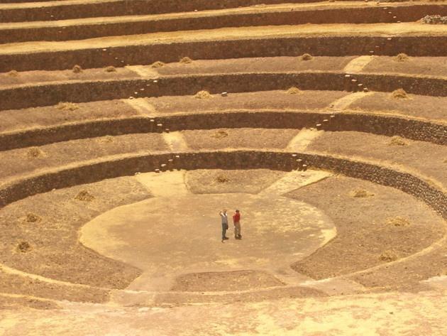 Сільськогосподарські тераси Мора древньої цивілізації інків (4)