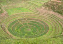 Сільськогосподарські тераси Мора древньої цивілізації інків (1)