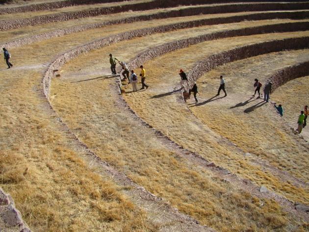 Сільськогосподарські тераси Мора древньої цивілізації інків (3)