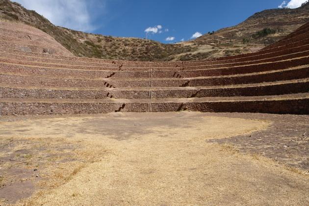 Сільськогосподарські тераси Мора древньої цивілізації інків (5)