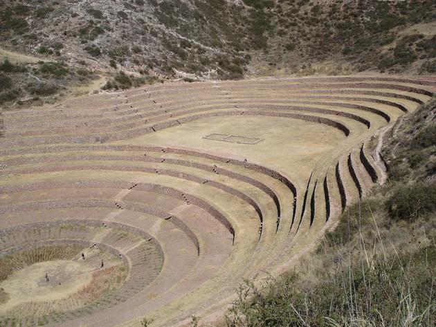 Сільськогосподарські тераси Мора древньої цивілізації інків (2)