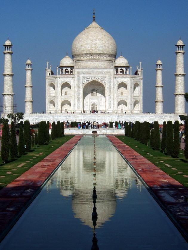 Тадж-Махал - «перлина Індії», «восьме диво світу», одна з найкрасивіших будівель у світі (8)