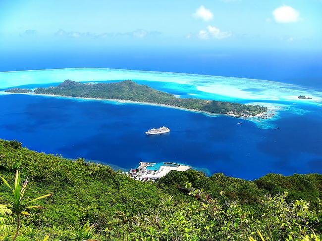 Якщо є на землі рай, то, напевно, острови Бора-Бора - одне з тих місць (1)