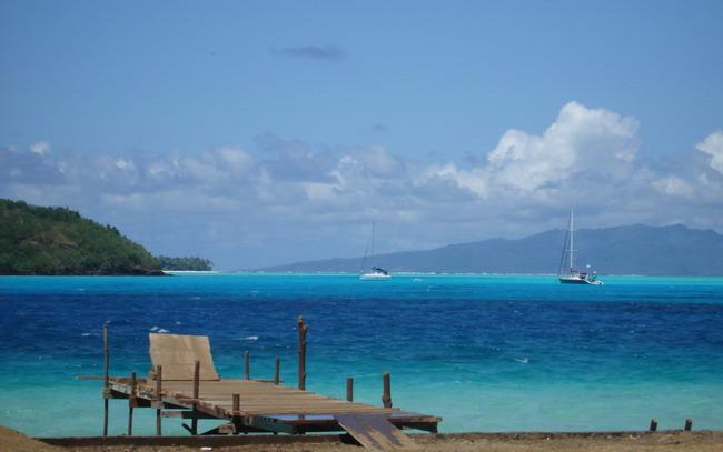 Якщо є на землі рай, то, напевно, острови Бора-Бора - одне з тих місць (9)