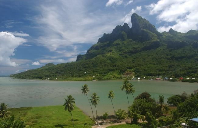 Якщо є на землі рай, то, напевно, острови Бора-Бора - одне з тих місць (6)