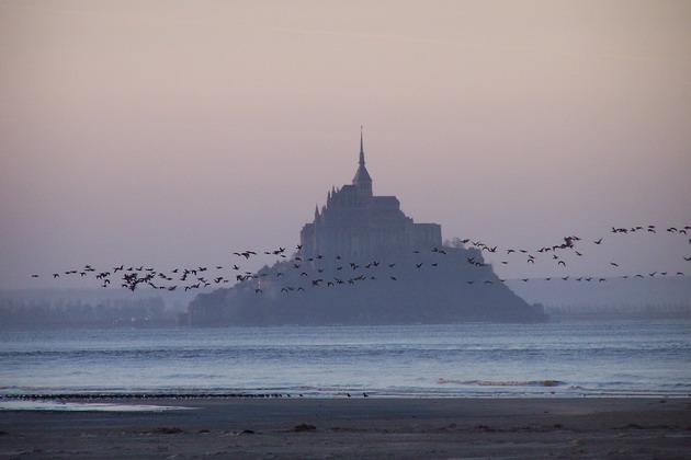Замок Мон-Сен-Мішель - один з найромантичніших замків старого світу (13)