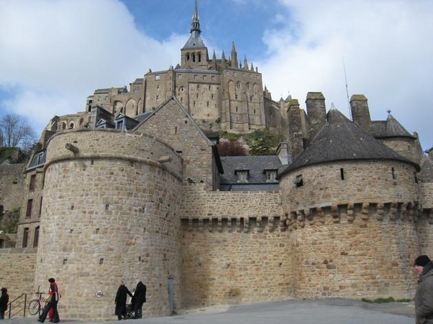 Замок Мон-Сен-Мішель - один з найромантичніших замків старого світу (15)