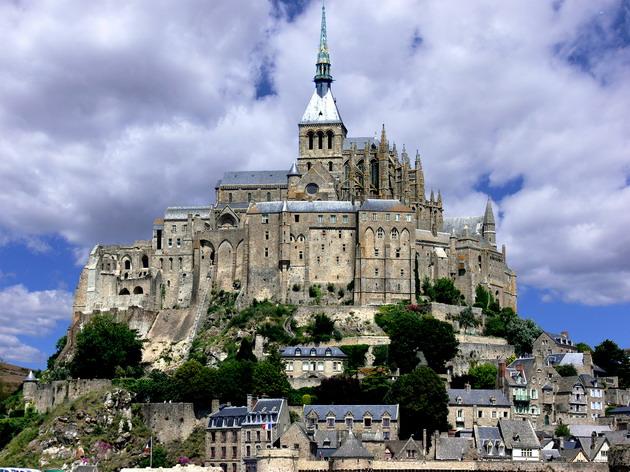 Замок Мон-Сен-Мішель - один з найромантичніших замків старого світу (23)