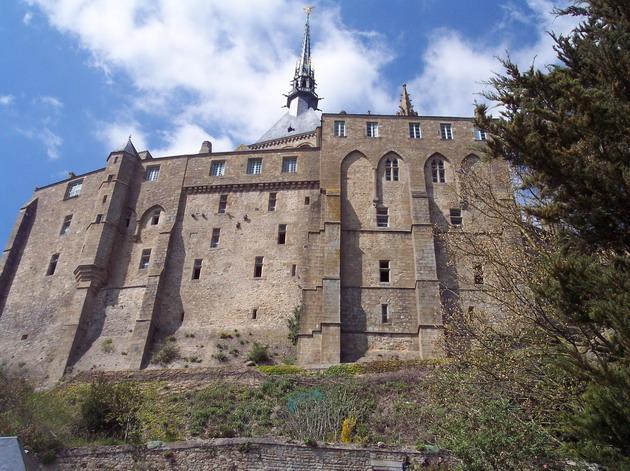 Замок Мон-Сен-Мішель - один з найромантичніших замків старого світу (7)