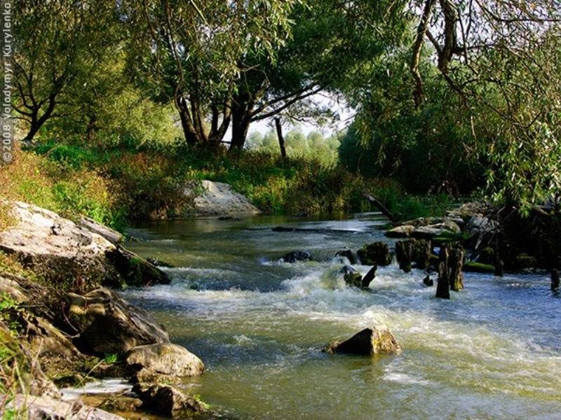 Річка Клевень  фото: Volodymyr Kurylenko