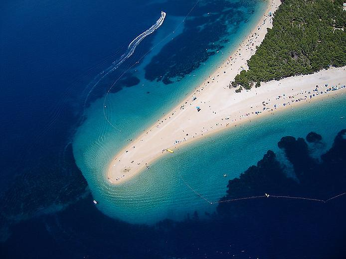 Пляж Златни Рат. Золотий ріг Хорватії (5)