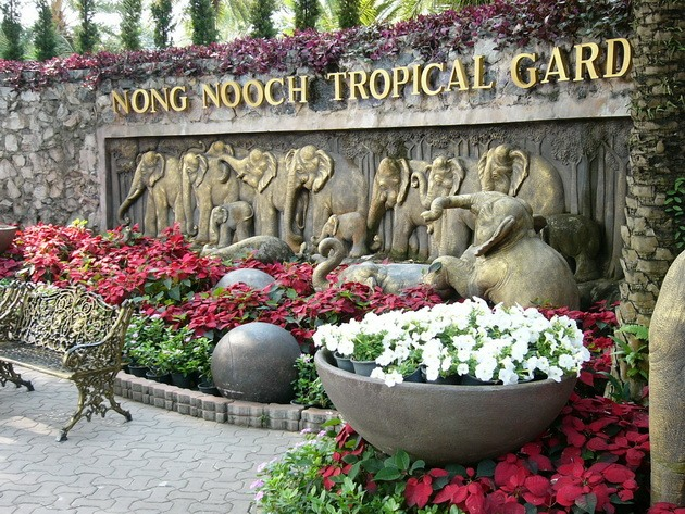 Тропічний парк Нонг Нуч (1)