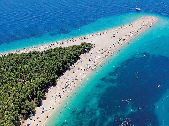 Пляж Златни Рат. Золотий ріг Хорватії (4)