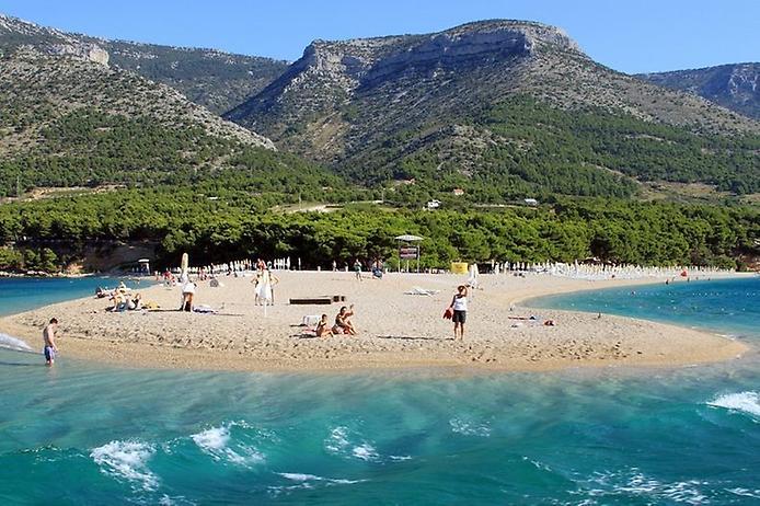 Пляж Златни Рат. Золотий ріг Хорватії (3)
