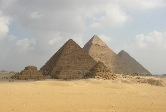 Піраміди Гізи та безмовний сфінкс (3)