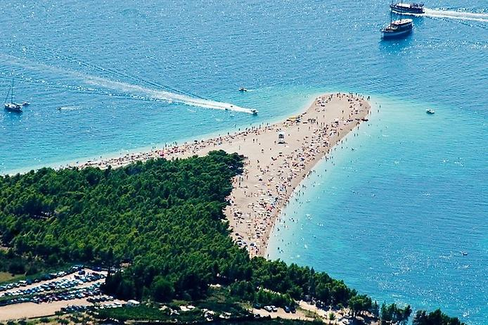 Пляж Златни Рат. Золотий ріг Хорватії (1)