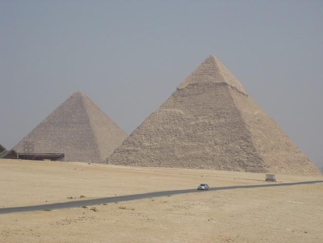 Піраміди Гізи та безмовний сфінкс (4)