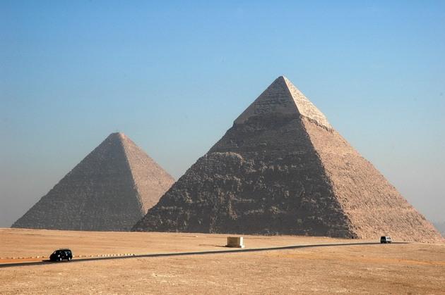 Піраміди Гізи та безмовний сфінкс (7)