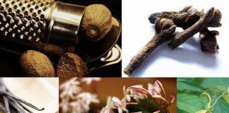 аромати-афродізіаки: іланг-іланг, гвоздика, мускатний горіх, рожева ваніль і жасмин.