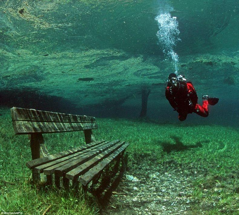 Грюнер Зее: Парк, який перетворюється на озеро (1)