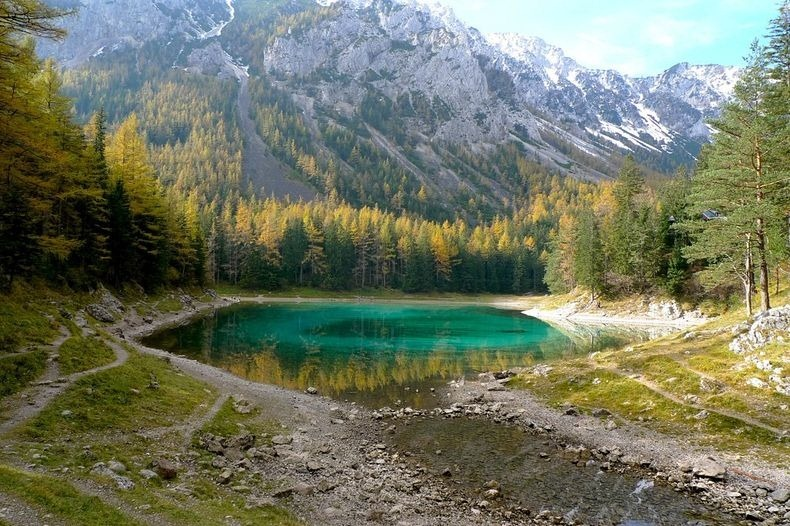 Грюнер Зее: Парк, який перетворюється на озеро (10)