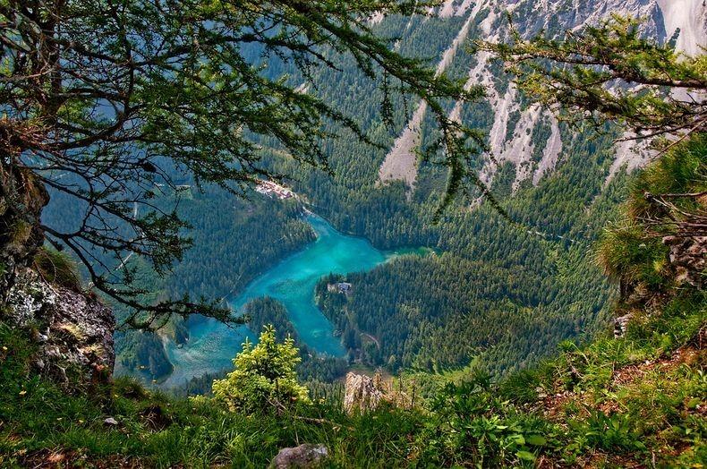 Грюнер Зее: Парк, який перетворюється на озеро (11)