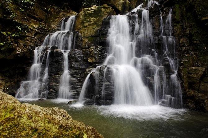 Водопровід влаштований як система збору джерельної води та подачі її самопливом.