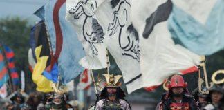 Фестиваль самураїв Soma Nomaoi (Японія) (5)