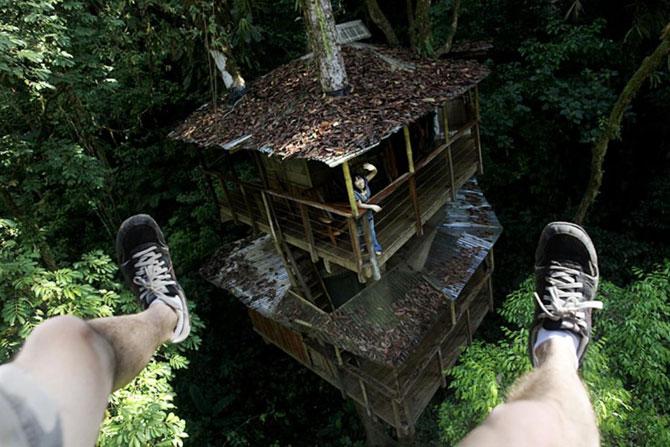 Дивовижне село з будинками на деревах (31 фото) (16)