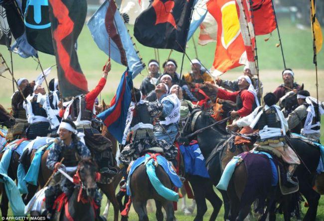 Фестиваль самураїв Soma Nomaoi (Японія) (4)