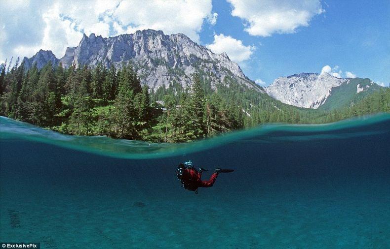 Грюнер Зее: Парк, який перетворюється на озеро (4)