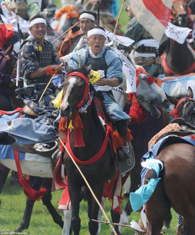 Фестиваль самураїв Soma Nomaoi (Японія) (3)