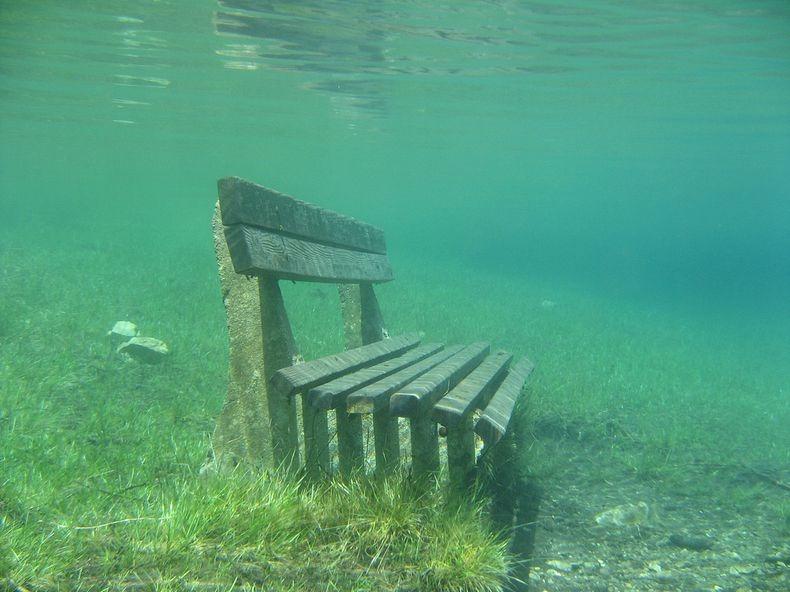 Грюнер Зее: Парк, який перетворюється на озеро (7)