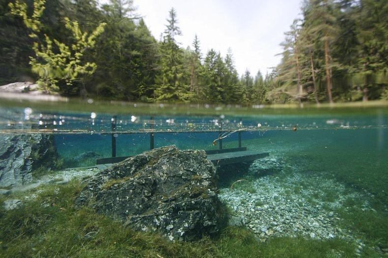 Грюнер Зее: Парк, який перетворюється на озеро (8)
