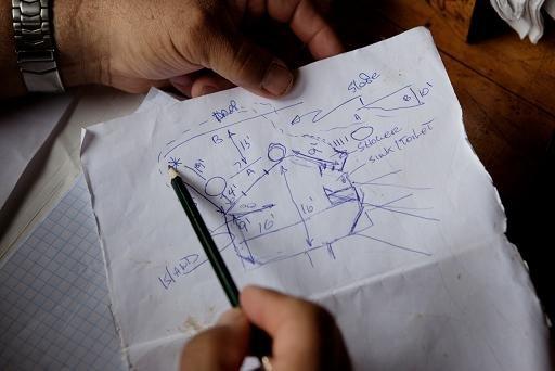 Метт розробляє макет будинку під назвою «Тортуга» або «Черепаха». Дійсно, схоже.