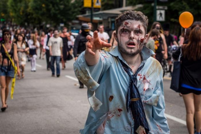Zombie Walk 2012 в Ванкувері (15 фото) (11)