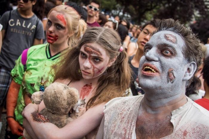 Zombie Walk 2012 в Ванкувері (15 фото) (10)
