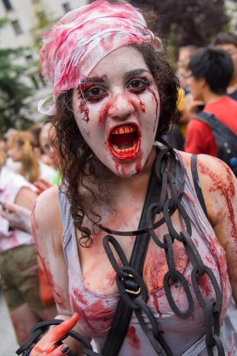Zombie Walk 2012 в Ванкувері (15 фото) (7)