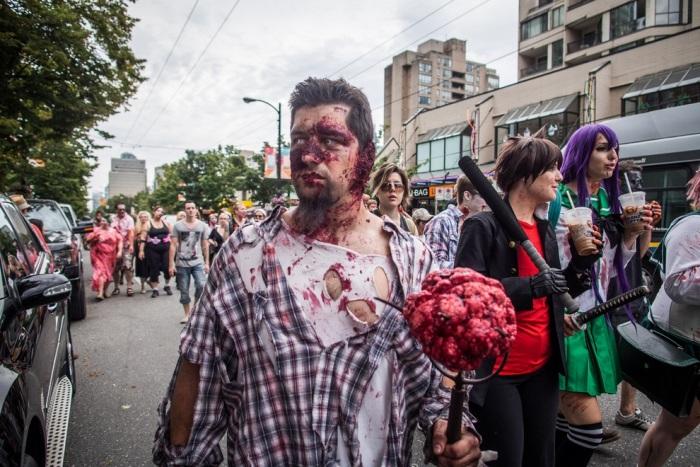 Zombie Walk 2012 в Ванкувері (15 фото) (6)