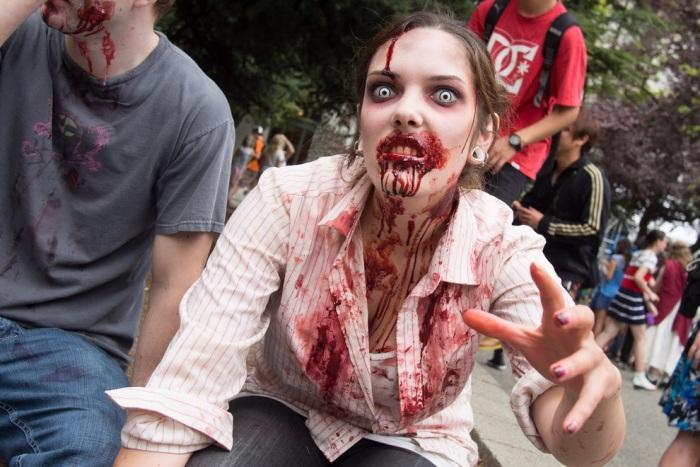 Zombie Walk 2012 в Ванкувері (15 фото) (5)