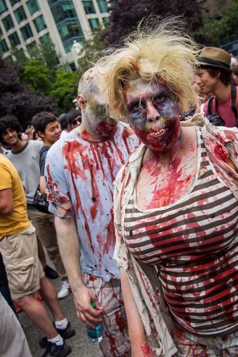 Zombie Walk 2012 в Ванкувері (15 фото) (3)