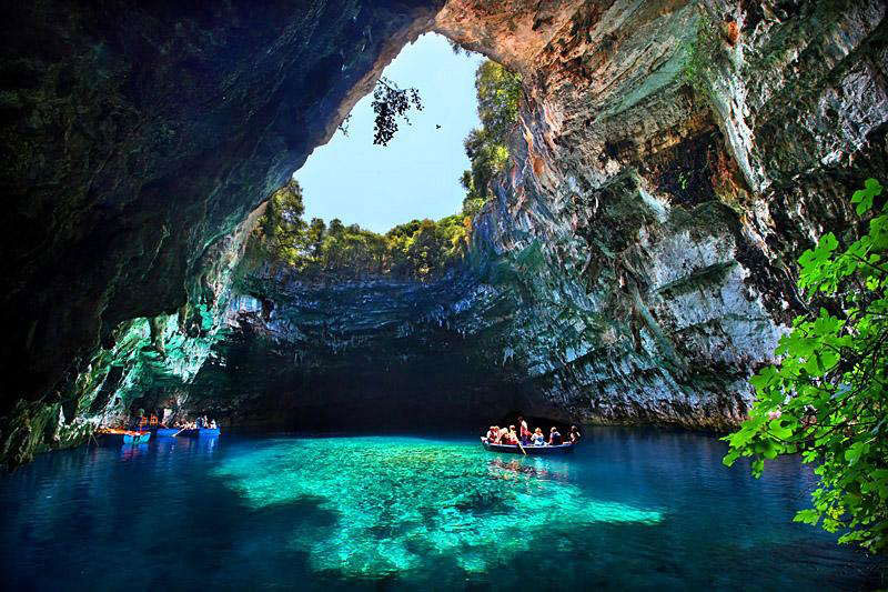 Печера Меліссані (8 фото) (2)