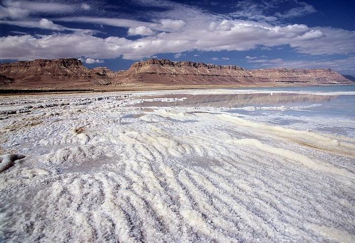Химерні соляні відкладення в Мертвому морі (2)