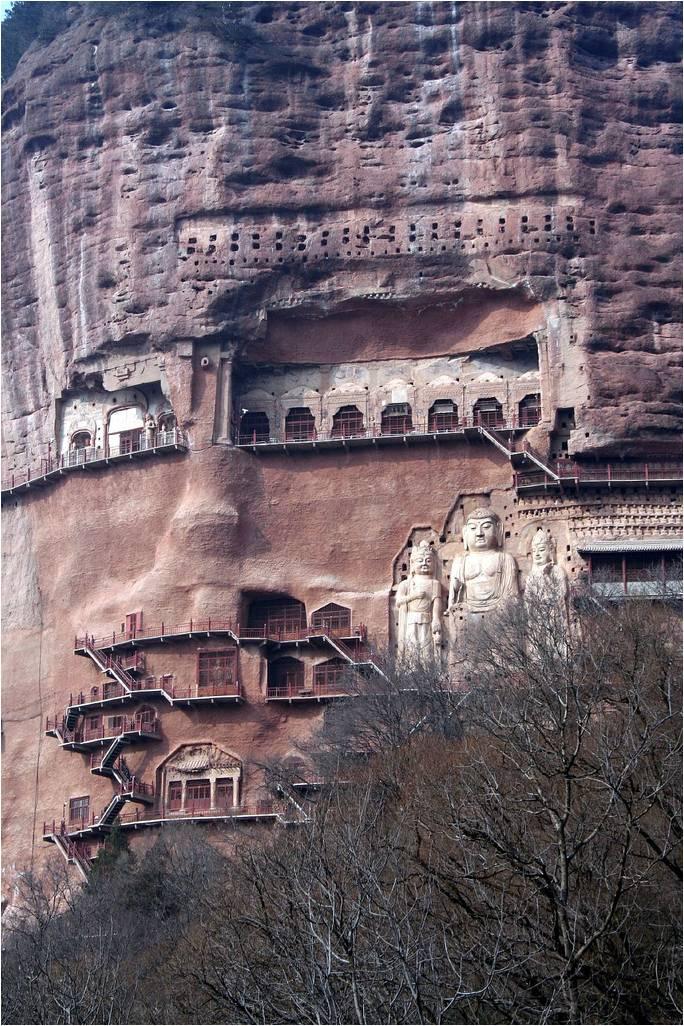 Печери Майцзішань. Скарб Китаю (8)