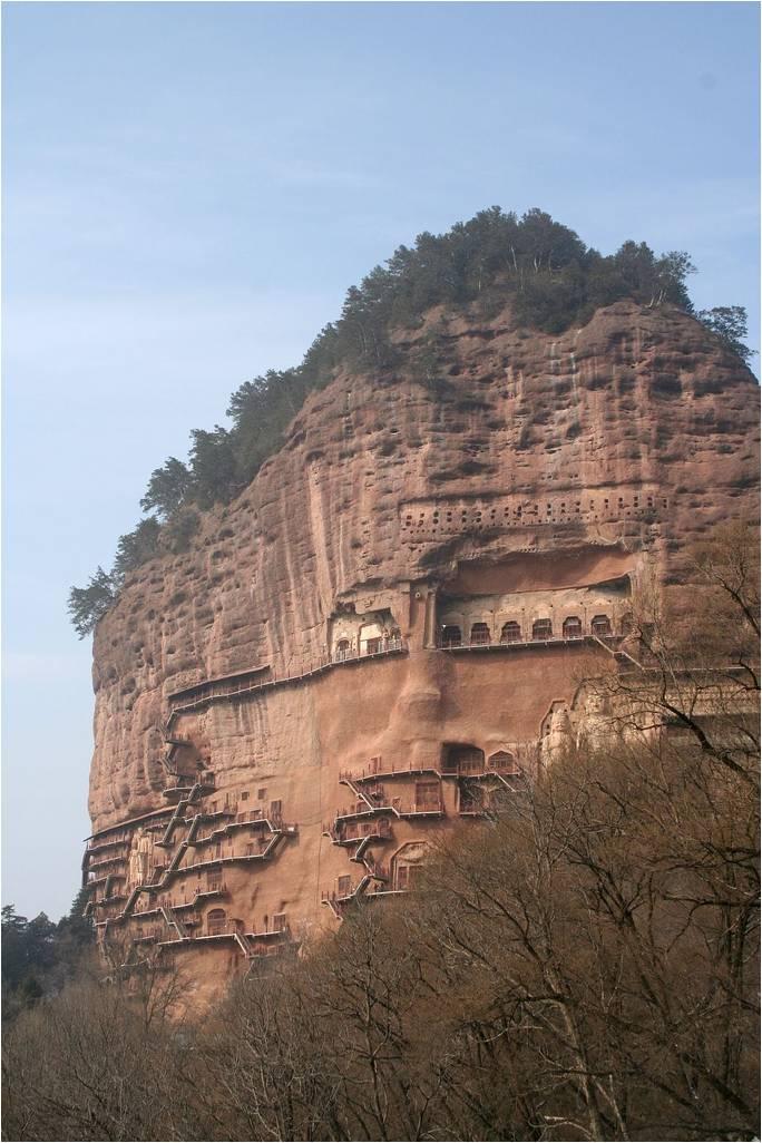 Печери Майцзішань. Скарб Китаю (2)