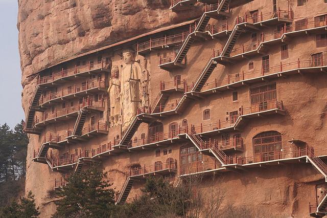 Печери Майцзішань. Скарб Китаю (4)