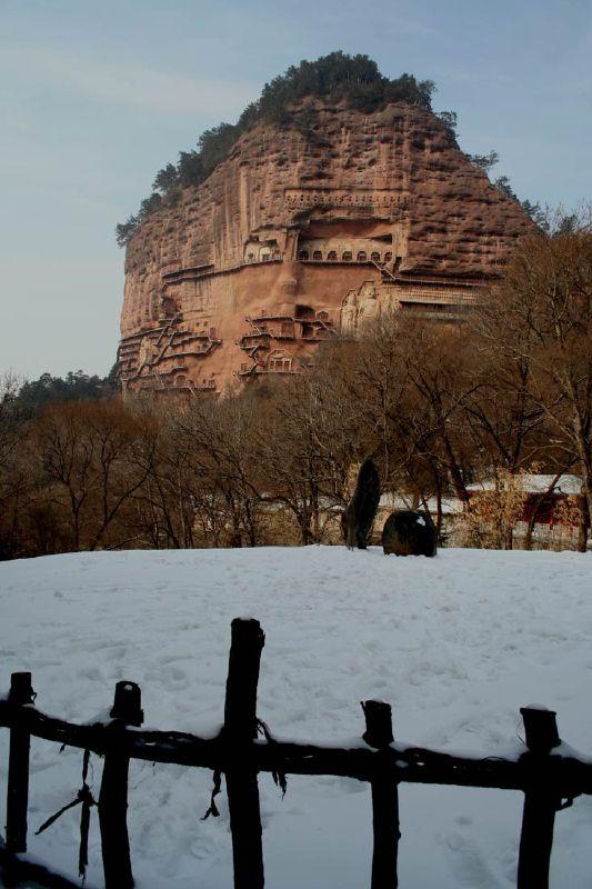 Печери Майцзішань. Скарб Китаю (5)